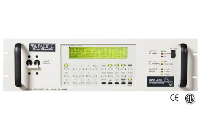 Programmable AC Power Supply | ASX Series - Pacific Power Source