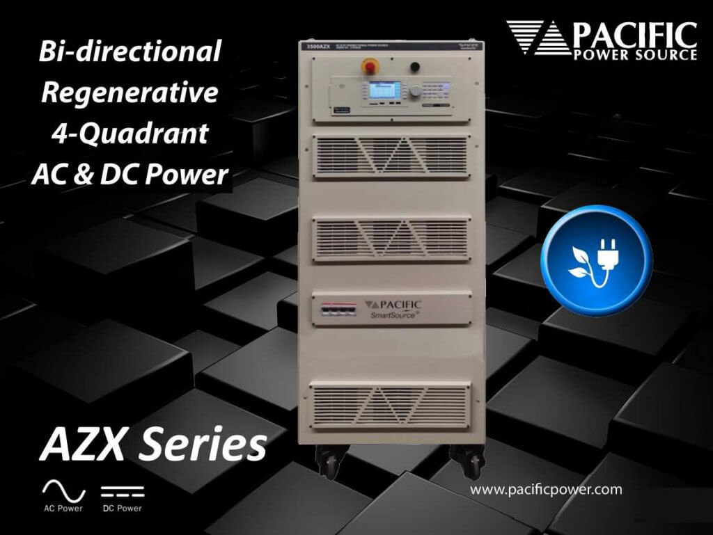 AZX-Series Regenerative AC and DC Power Sources